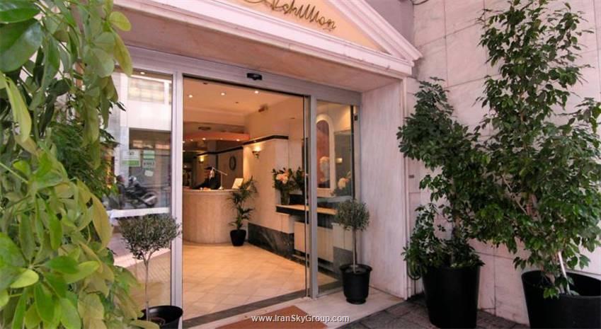 هتل اکیلیون هتل , هتل 3ستاره, هتل آتن,  یونان