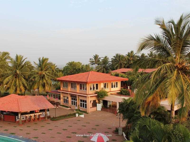 هتل  د بیک اولد انچر , هتل 3ستاره, هتل گوا,  هند