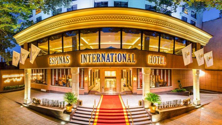 هتل هتل اسپیناس تهران|قیمت هتل اسپیناس تهران|الی گشت