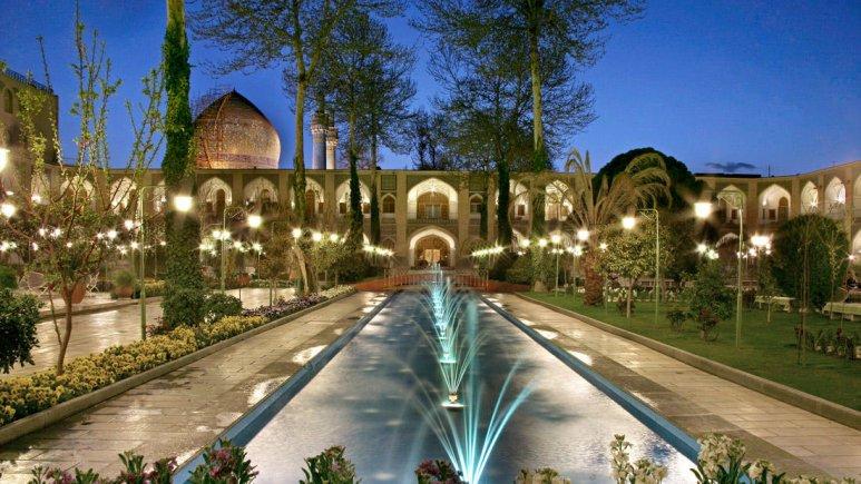 هتل هتل عباسی اصفهان قیمت هتل عباسی اصفهان الی گشت