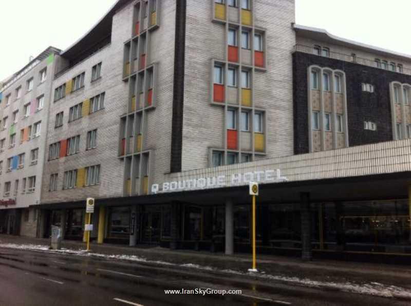 هتل  کوئنتین بوتیک هتل برلین قیمت  کوئنتین بوتیک هتل برلین الی گشت