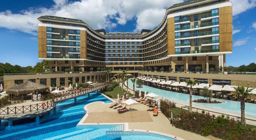 هتل  اسکا لارا رسرت اند اسپا , هتل 5ستاره, هتل آنتالیا,  ترکیه
