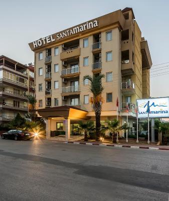 هتل سانتا مارینا هتل , هتل 3ستاره, هتل آنتالیا,  ترکیه