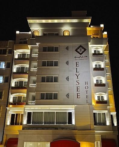 هتل هتل الیزه , هتل 4ستاره, هتل شیراز,  ایران
