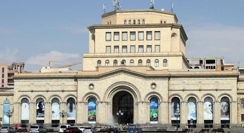هتل نشنال هتل ایروان قیمت نشنال هتل ایروان الی گشت