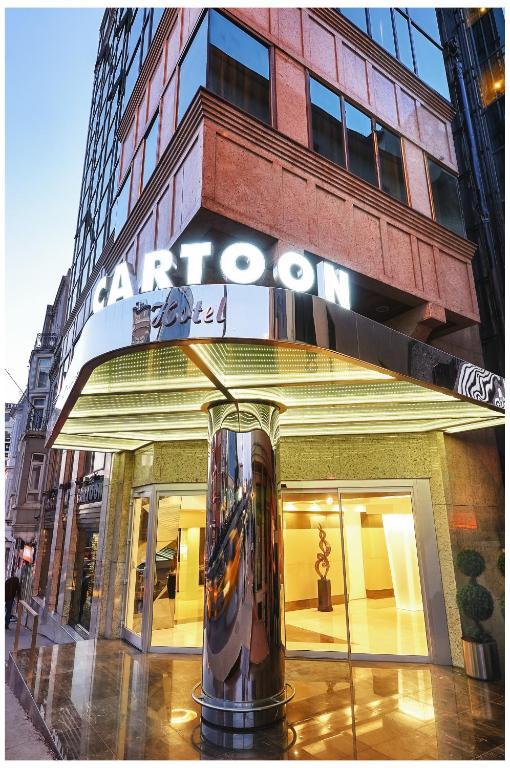 Cartoon Hotel|Istanbul hotels|Eligasht