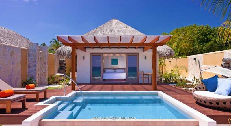 هتل شرایتون مالدیو فول مون ریزورت اند اسپا , هتل ۵ ستاره عالی در ماله | الی