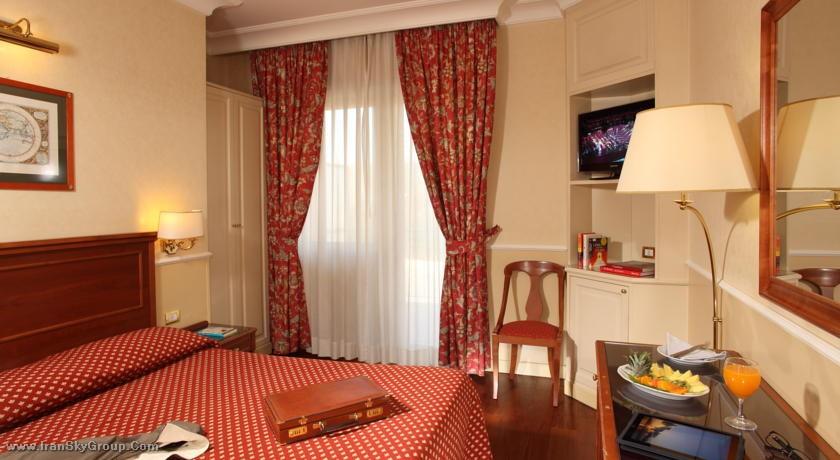 هتل کریستفرو کلمبو , هتل 4ستاره, هتل رم,  ایتالیا