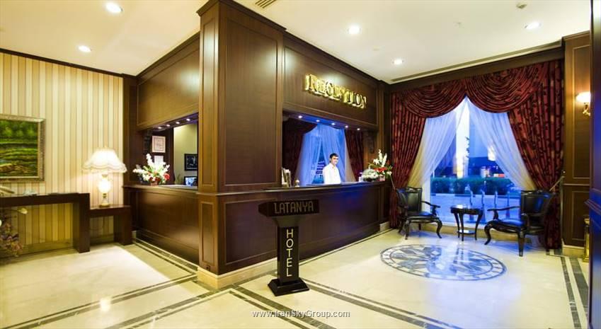 هتل  لتنیا پالم هتل آنتالیا , هتل 4ستاره, هتل آنتالیا,  ترکیه