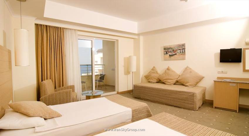 هتل سیلایت ریزورت , هتل 5 ستاره, هتل کوش اداسی,  ترکیه