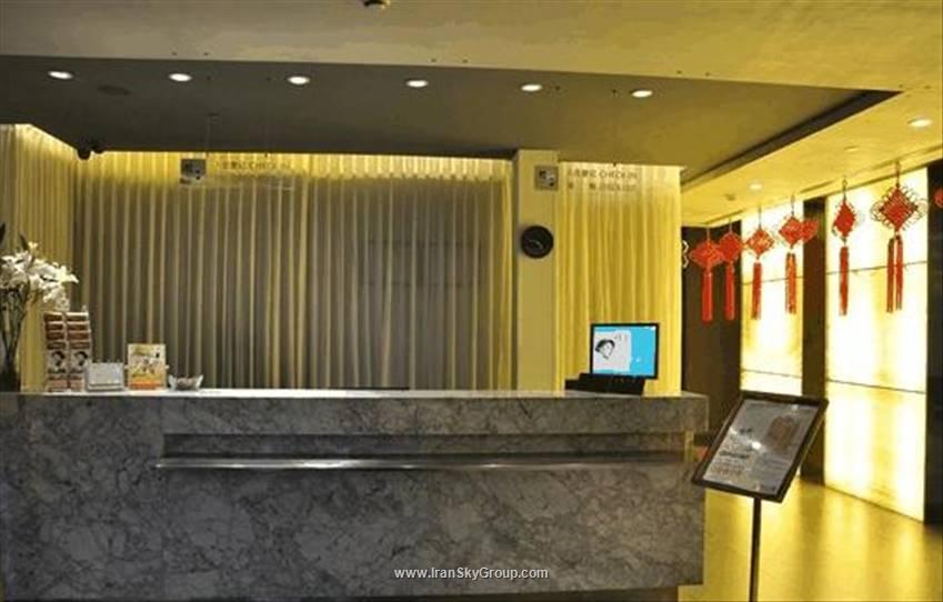 نمای بیرونی هتل