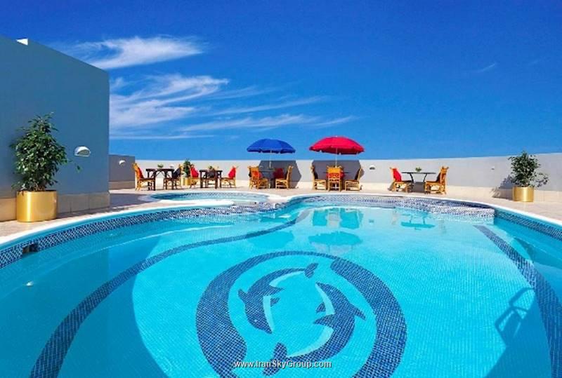 هتل سون اند سندس سعا ویو هتل , 3ستاره, هتل دبی,  امارات متحده عربی
