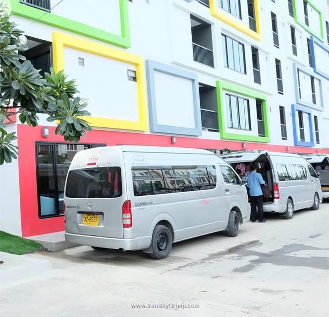 هتل سوننی رزیدنس , هتل 3ستاره, هتل بانکوک,  تایلند