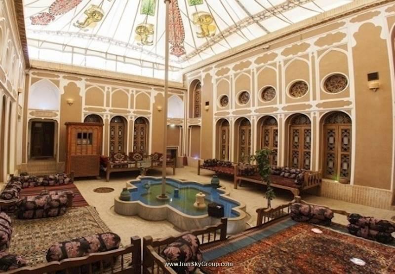 هتل هتل سنتی فهادان , هتل 4ستاره, هتل یزد,  ایران