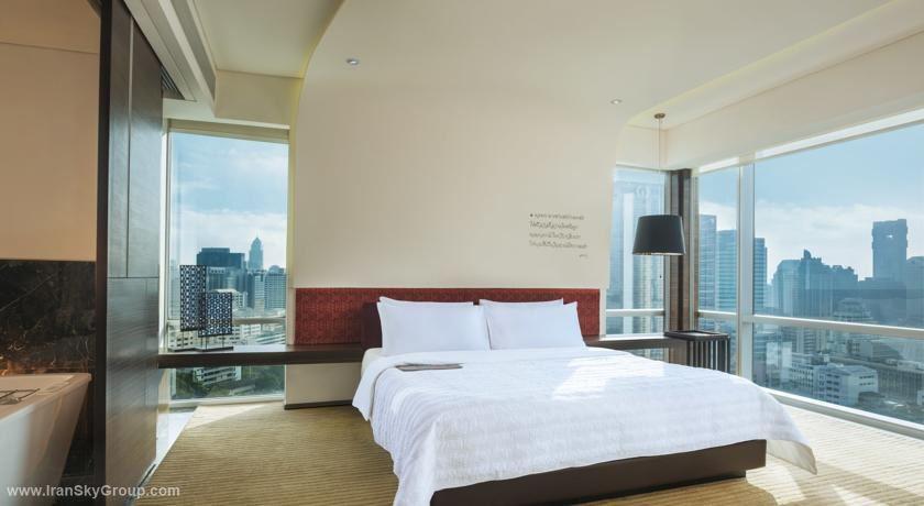 هتل له مریدین بانکوک , 5ستاره, هتل بانکوک,  تایلند