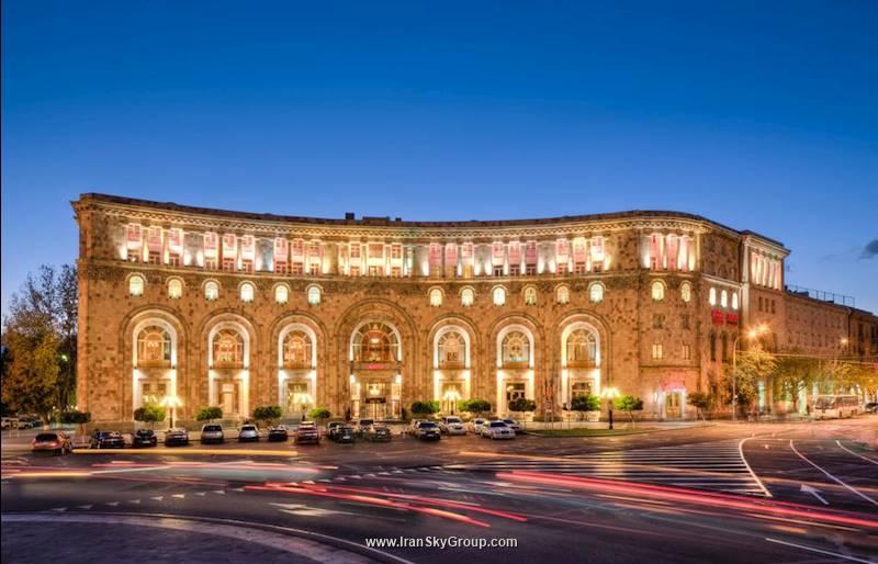هتل ماریوت ارمنیا هتل ایروان , هتل 4ستاره, هتل ایروان,  ارمنستان