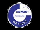 گواهینامه سیستم مدیریت شکایت مشتریان الی گشت ISO 10002-2004
