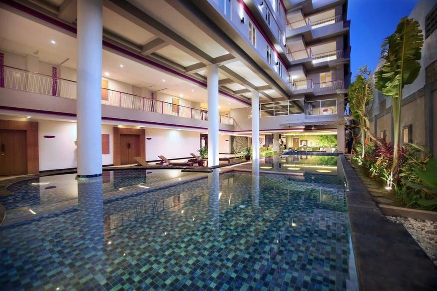هتل فاوهتل سانست سمینیاک , هتل 3ستاره, هتل بالی-سمینیاک,  اندونزی
