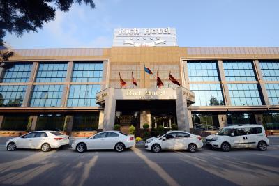 هتل ریچ هتل , هتل 5ستاره, هتل باکو,  جمهوری آذربایجان