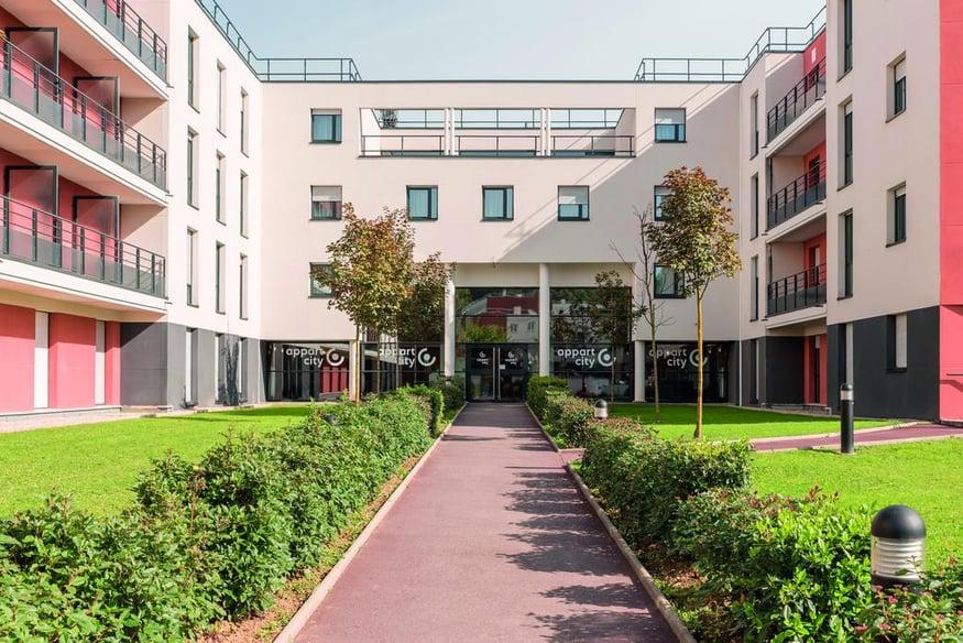 هتل اپارتسیتی ورسای سنت-سیر-لکول , هتل 2ستاره, هتل ورسایلز,  فرانسه